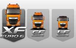 Configura veicolo DAF Euro 6